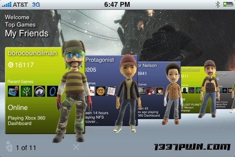 Image de 1337pwn iNXES XBOX Live Friends