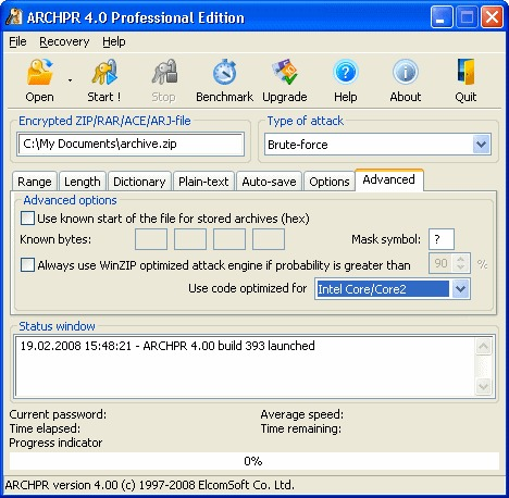 Image de Advanced ZIP Password Recovery