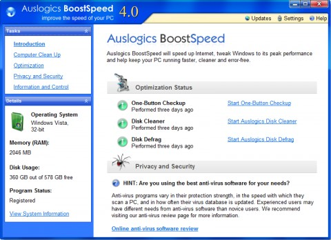 Image de Auslogics Boost Speed