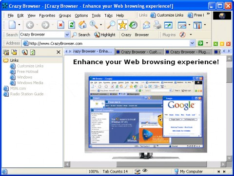 Image de Crazy Browser