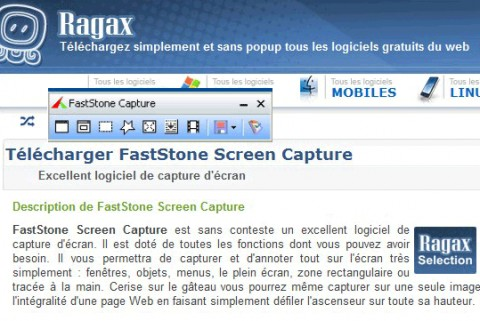 Image de FastStone Screen Capture