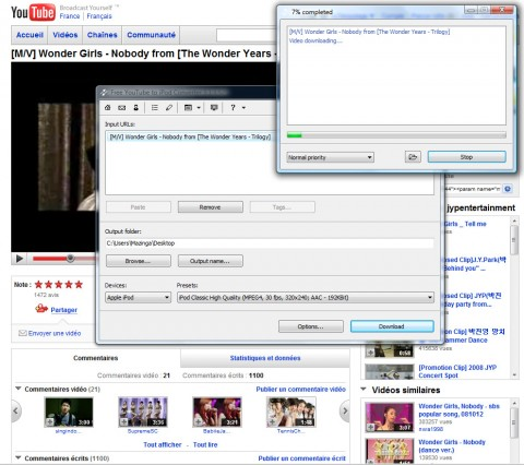 Image de Free YouTube to iPod Converter