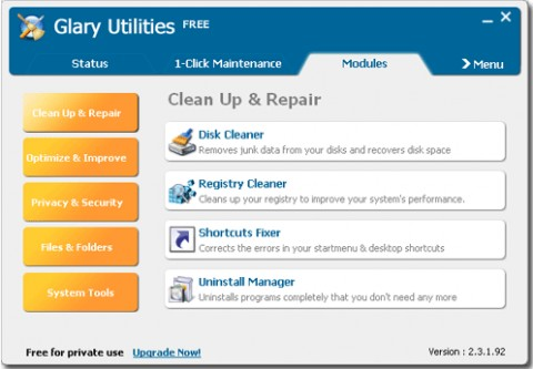 Image de Glary Utilities