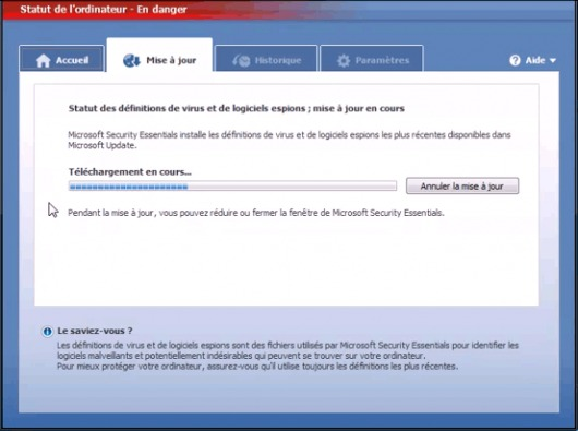 Image de Microsoft Security Essentials