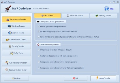 Image de Mz 7 Optimizer