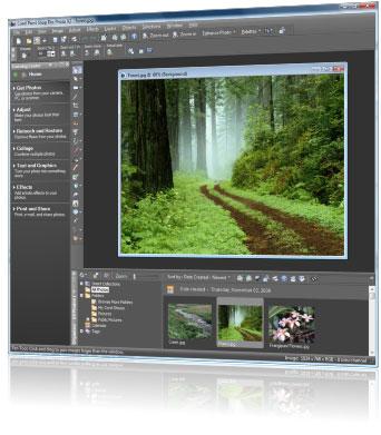 Paint shop pro ultimate photo x2