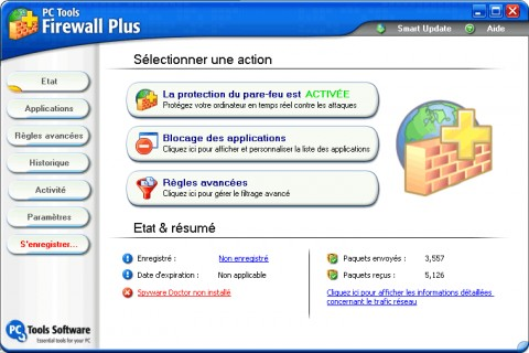 Image de PC Tools Firewall Plus
