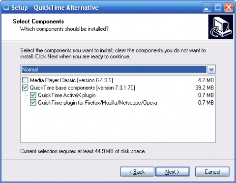 Image de QuickTime Alternative
