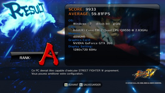 Image de Street Fighter 4 Benchmark