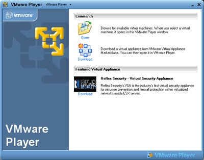 Image de VMWare Player