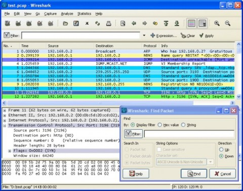 Image de Wireshark