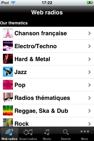 Image de Deezer iPhone