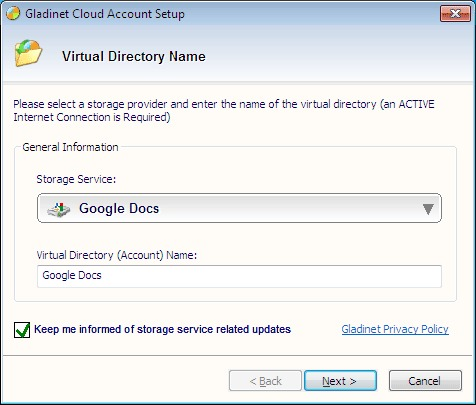 Image de Gladinet Cloud Desktop