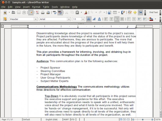 how to put equations in libre office writer