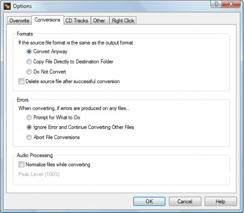 Image de Switch Audio File Converter