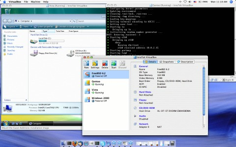 Image de VirtualBox